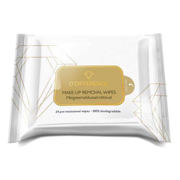 DDIFFERENCE Make-up Removal Wipes