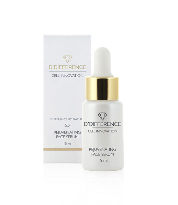 5D REJUVENATING FACE SERUM with box