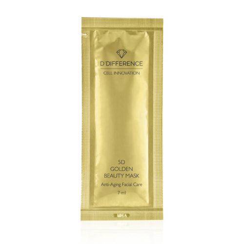 DDIFFERENCE 5d Golden Beauty Mask_web