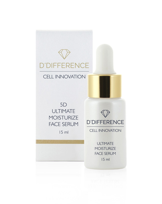 5D ULTIMATE MOISTURIZE FACE SERUM with box
