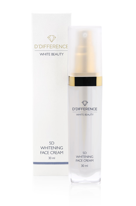 DDIFFERENCE White Beauty Face Cream 30ml w.box