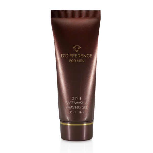DDIFFERENCE FOR MEN 2in1 Face Wash&Shaving Gel 30 ml_web